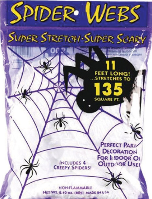 spider web halloween decor