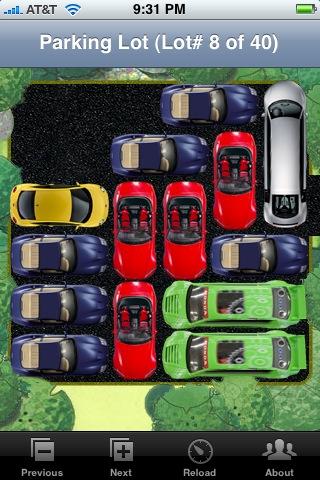 parking lot app