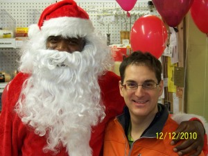 santa at old takoma ace