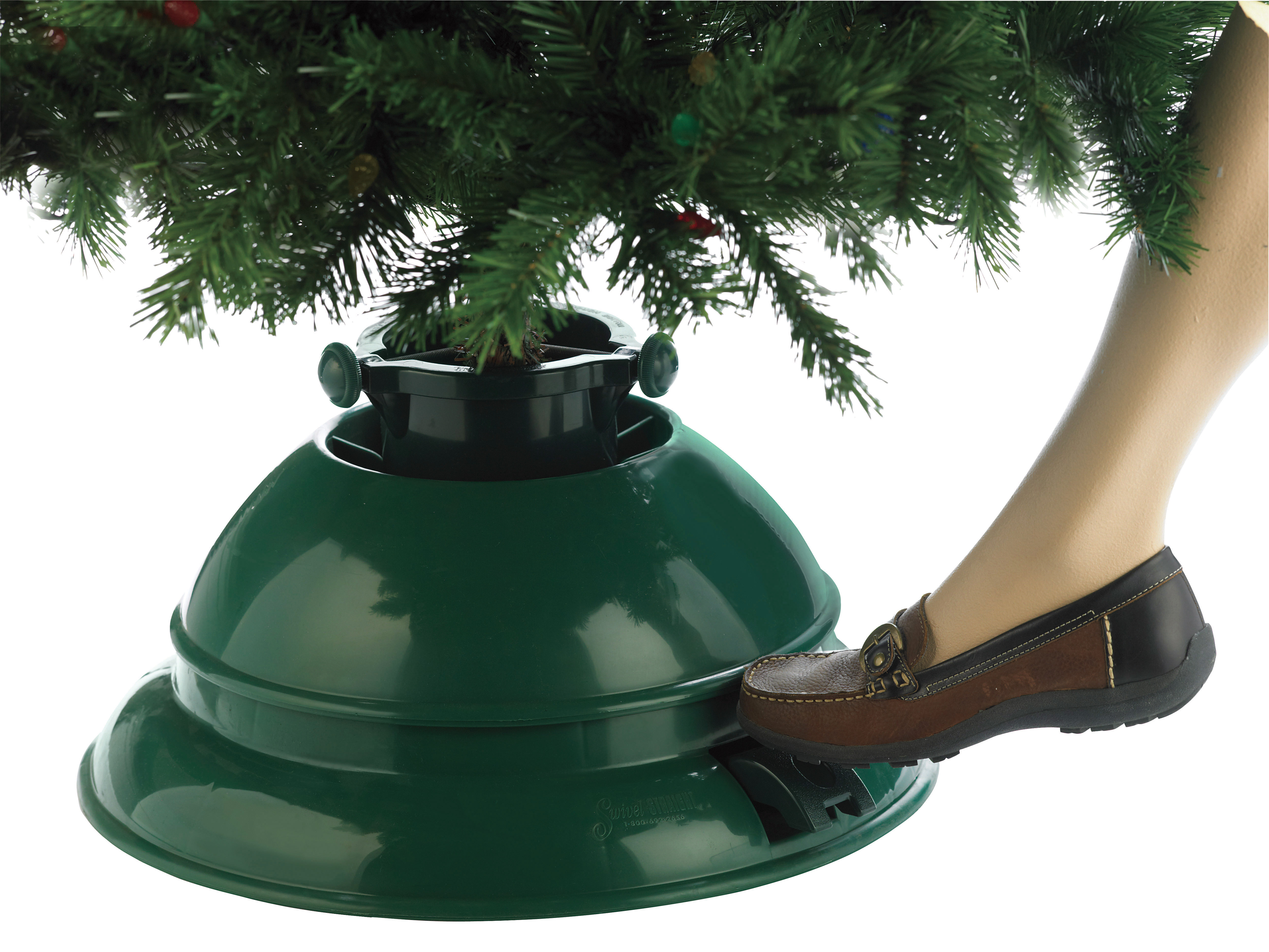 christmas tree holder water