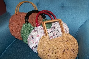 Recycled Hand Bags